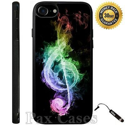 7 Music Notes (Music Notes Colorful Case For iPhone 6S 7 Plus Samsung Galaxy S7 S8)