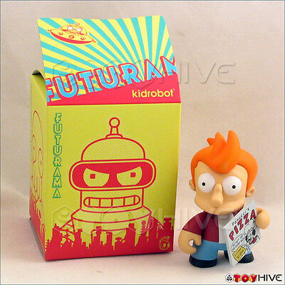 Kidrobot Futurama collection vinyl figure Fry opened to identify series 1