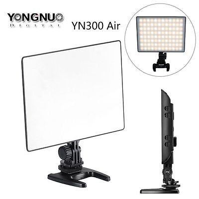 Yongnuo YN-300 Air 3200K-5500K Pro LED Video Light for DV Nikon Canon Camera UK