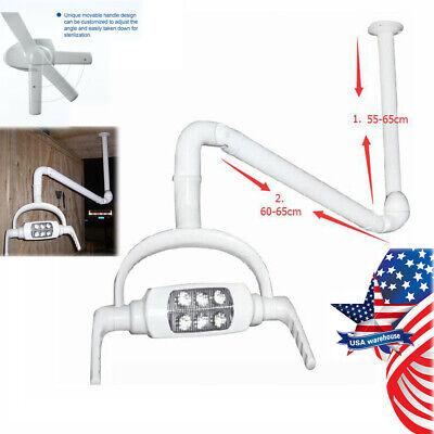 6 Led Lens Dental Oral Light Ceiling-mount Surgical Operating Lamp Support Arm
