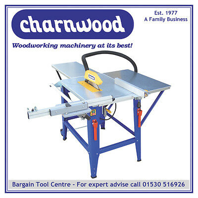 Charnwood W625P12'' Contractors Table Saw - Package Offer