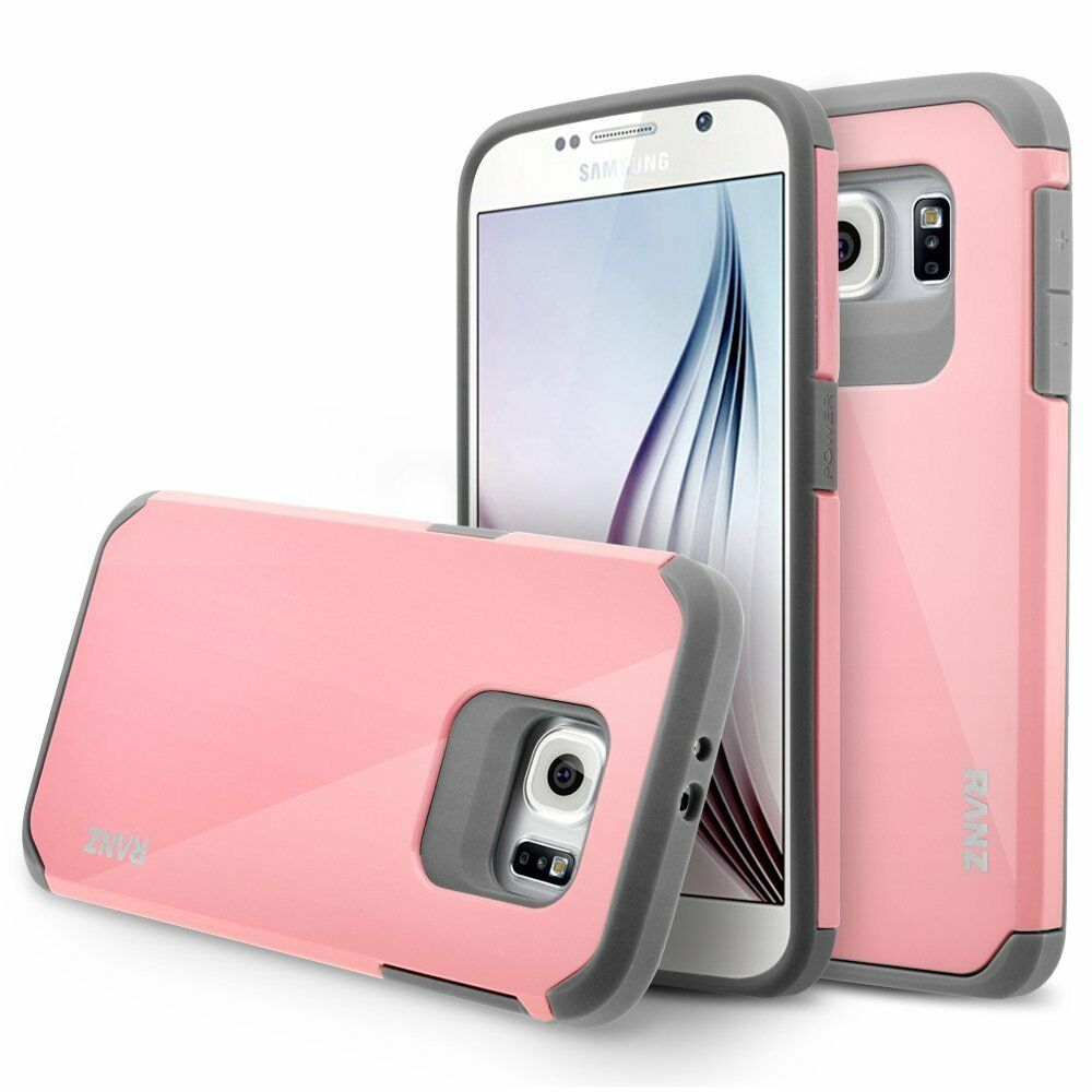 Купить RANZ - Samsung Galaxy S6 Case, Impact Dual Layer Shockproof Bumper Case