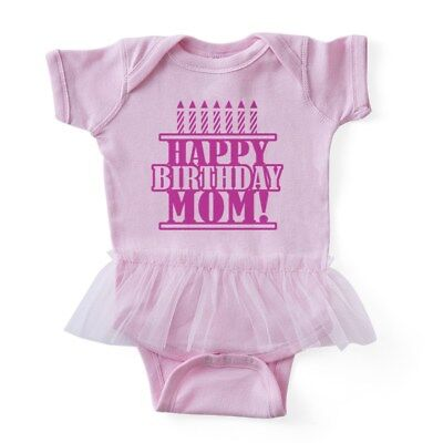 CafePress - Happy Birthday Mom - Baby Tutu Bodysuit