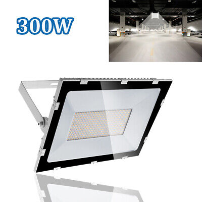 300W Ultra LED Floodlight 24000LM Cool Outdoor Security Waterproof Lamps NEW