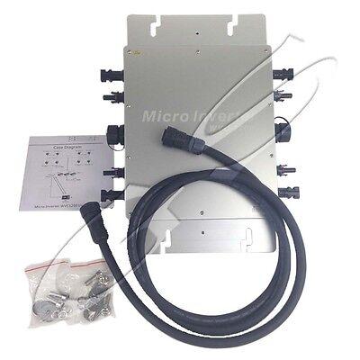 600W 1200W Grid Tie Inverter Power Line Communication Can Match Modem