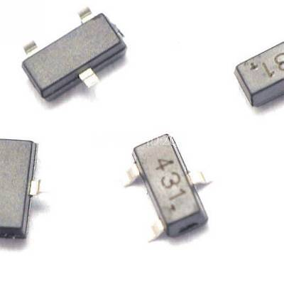 20pcs Tl431 431 Sot23 Regulators Transistor Smd Transistor