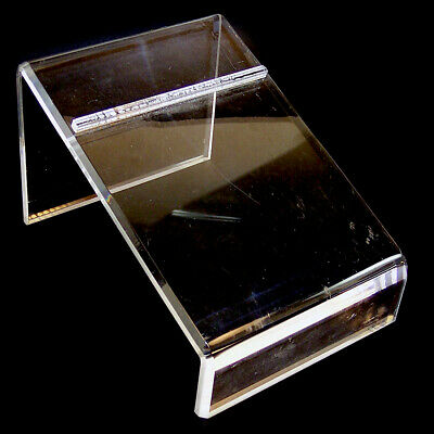 Acrylic Shoe Display Holder Riser 9 Length 6.5 Wide