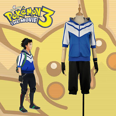 Mystic Costume (Game Pokemon Go Trainer Figure Blue Team Valor Instinct Mystic Cosplay)