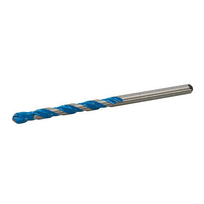 6mm X 100mm Multi Material Drill Bit- Round Shank Tct Masonry Wood Metal Tile