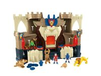 Used Imaginext Lions Den Castle Playset