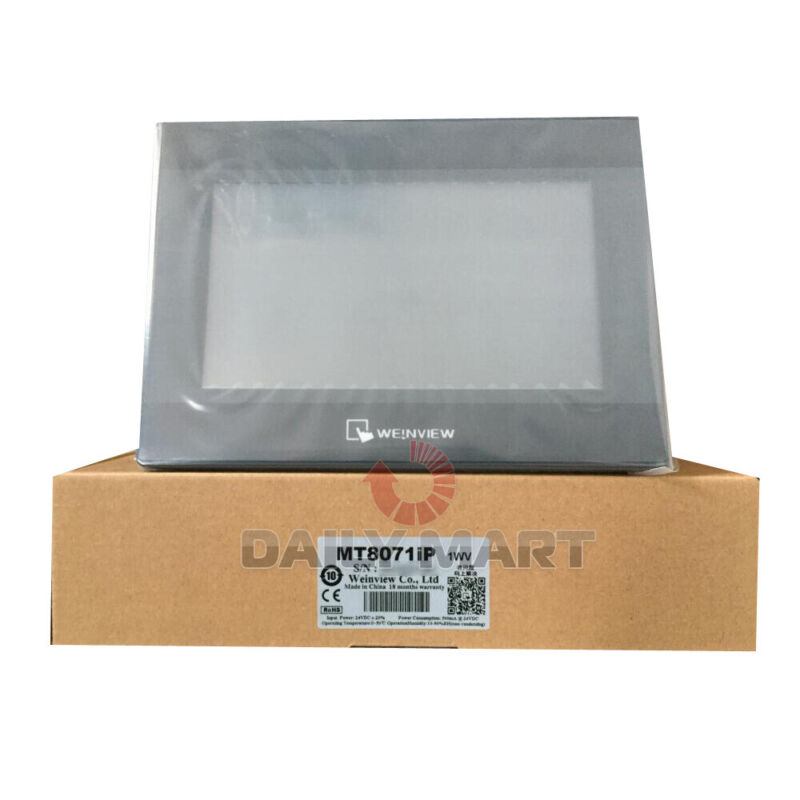 "New In Box WEINTEK MT8071iP Touch Screen 7"""