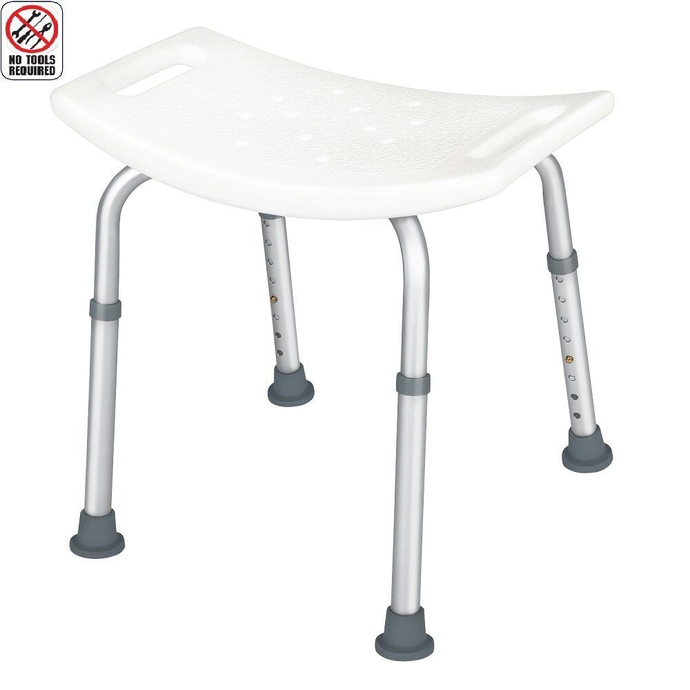 McKesson Adjustable Shower Stool And Shower Chair With No...