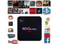 Brand new android box mxq pro