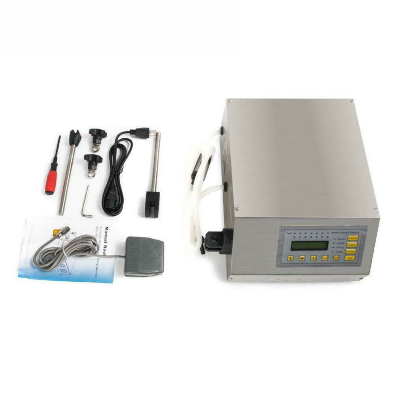 Liquid Filling Machine Automatic Digital Control Bottle Water Filler 2-3500ml
