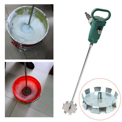 50-250l Pneumatic Paint Mixer Portable Blender Mixing Machine Air Agitator Top