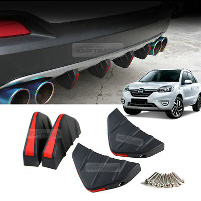Carbon Trunk Inside Bumper Anti Protector Decal Sticker for RENAULT 2016-17 QM6