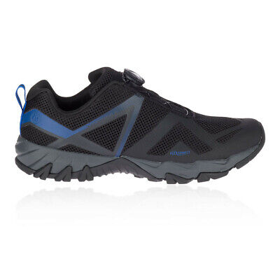 Merrell Mens MQM Flex BOA Walking Shoes Trekking Sneakers Trainers Black