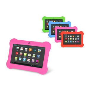 Orbo Jr. 4GB Android 4.1 Multi Touch Tablet PC Kids Edition Bundle