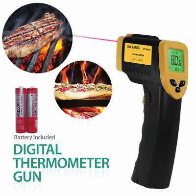 Temperature Temp Meter Gun Non-contact Digital Laser Thermometer Infrared Ir Us