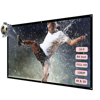 Portable Foldable Projector Mini Theater 1920*1080 LED HD LCD 1080P Home Cinema