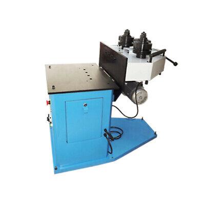 3 Phase 220v 1hp Hv Ring Roller Pinch Roll Bender Bending Steel Machine 1-14