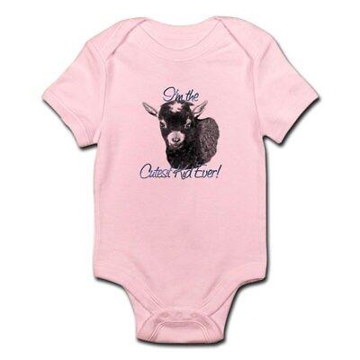 CafePress Goat Cutest Kid Ever Infant Bodysuit Baby Bodysuit