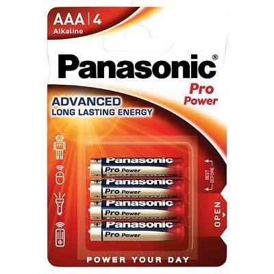 20 x Panasonic Pro Power  Batterie AAA LR3 Micro Gold Akali 1,5V LR03 NEU MN2400