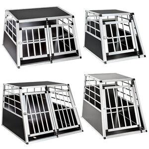 cage box caisse de transport chien mobile aluminium ebay. Black Bedroom Furniture Sets. Home Design Ideas
