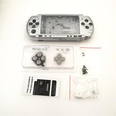 Silber Gehäuse Hülle Case Faceplate Ersatz für Sony PSP 3000 console-SILVER Sony Faceplate Case
