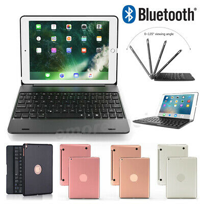 """Smart Case With Bluetooth Keyboard Cover For iPad 6th Generation 2018 9.7"""" Air 2"""