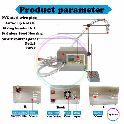 Liquid Filling Machine Pneumatic For Various Oils Foodchemicalcatering 8lmin