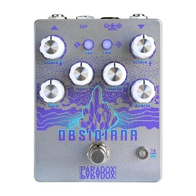 Paradox Effects Obsidiana Octave Layering Engine Guitar Effects Pedal