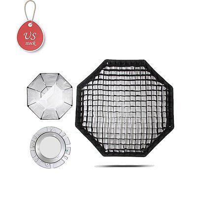 Godox Octagon 95cm Grid Honeycomb Softbox Bowens Mount for Studio Strobe in USA