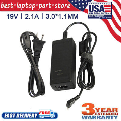 19V for Acer Chromebook 15 14 13 11 R11 CB3-111 C720 Laptop AC Adapter Charger