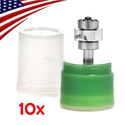10x Dental Cartridge Turbine Standard Torque Push Button F High Speed Handpiece