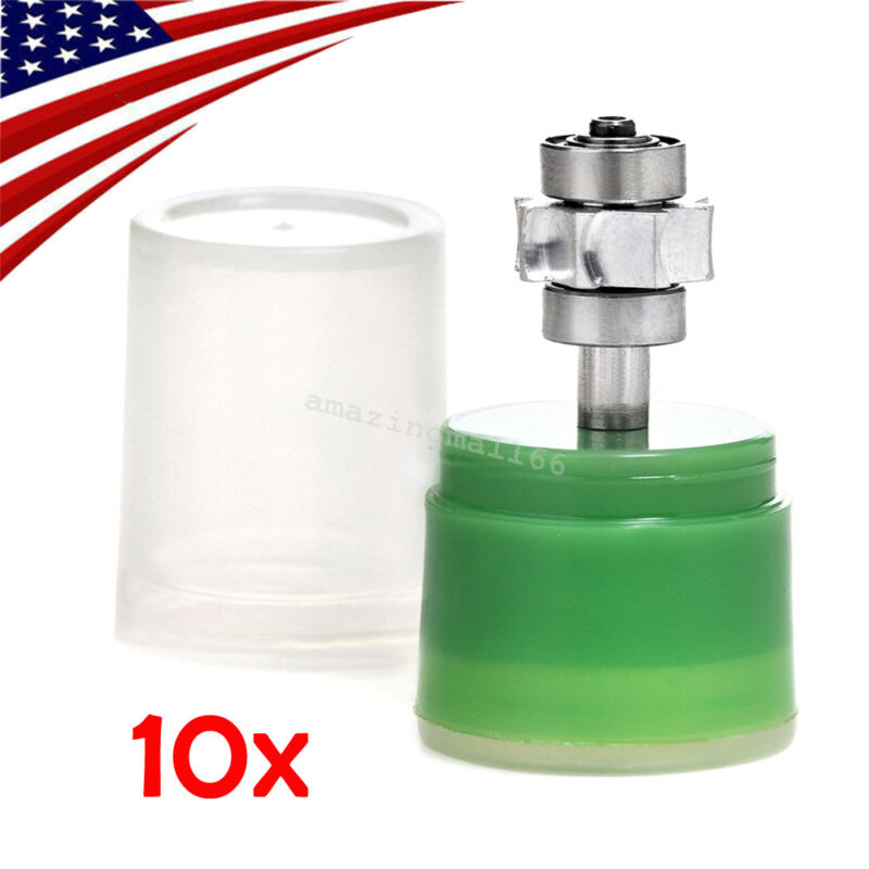 10x Dental Cartridge Turbine Standard Torque Push Button f/ High Speed Handpiece