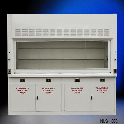 New Laboratory Equipment 8 Chemical Fume Hood Quick Shipping -e1-089