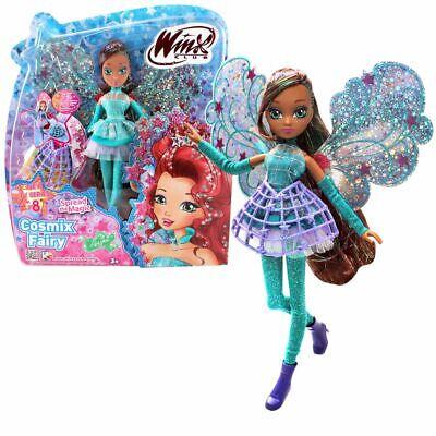 Layla   Cosmix Fairy   Winx Club   Bambola con Ali Olografiche Mobili