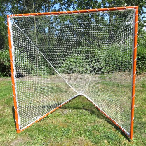 Lacrosse Goal & 3.0mm Net, Complete Frame & Netting 6