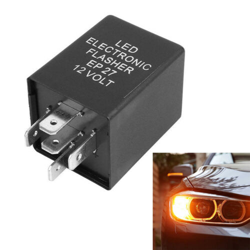 5-Pin EP27 FL27 LED Flasher Relay Fix for LED Turn Signal Lamps Hyper Flash UK