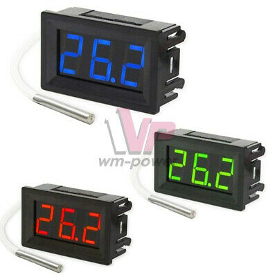 Xh-b310 K-type Thermometer Dc 12v Digital Led Diaplay Probe Sensor Thermocouple