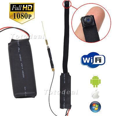 Mini DV Full HD 1080P Spy DIY Module IP Camera WiFi Remote Monitor Nanny Cam DVR