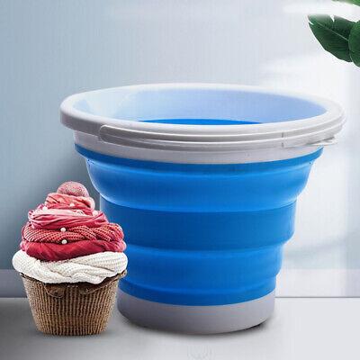 Clothing Storage Bucket Laundry Basket Holder Fabric Bag Household Toy Organizer