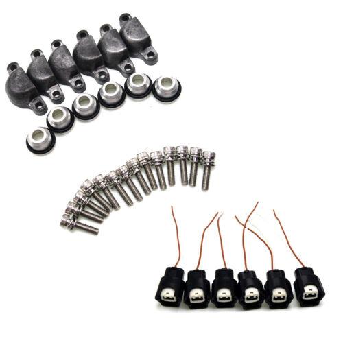For 90-94 Nissan 300ZX 3.0L V6 VG30DE VG30DETT z32 Fuel injector adapter kits
