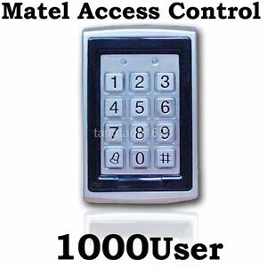 Metal-RFID-Keypad-Access-Controller-reader-Free-5cards