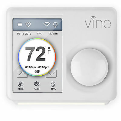 Vine Universal Smart Wi-Fi Programmable Thermostat Control w