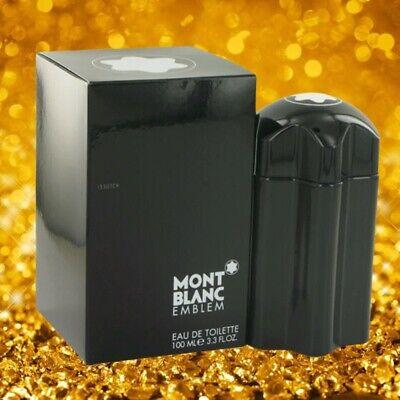 Mont Blanc Emblem Cologne Men Perfume Eau De Toilette Spray 3.4 fl oz 100 ml Edt