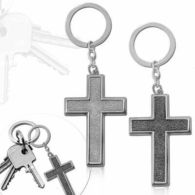 änger Anhänger Kreuz Schlüsselanhänger Glitzer Accessoire  (Kreuz-schlüsselanhänger)