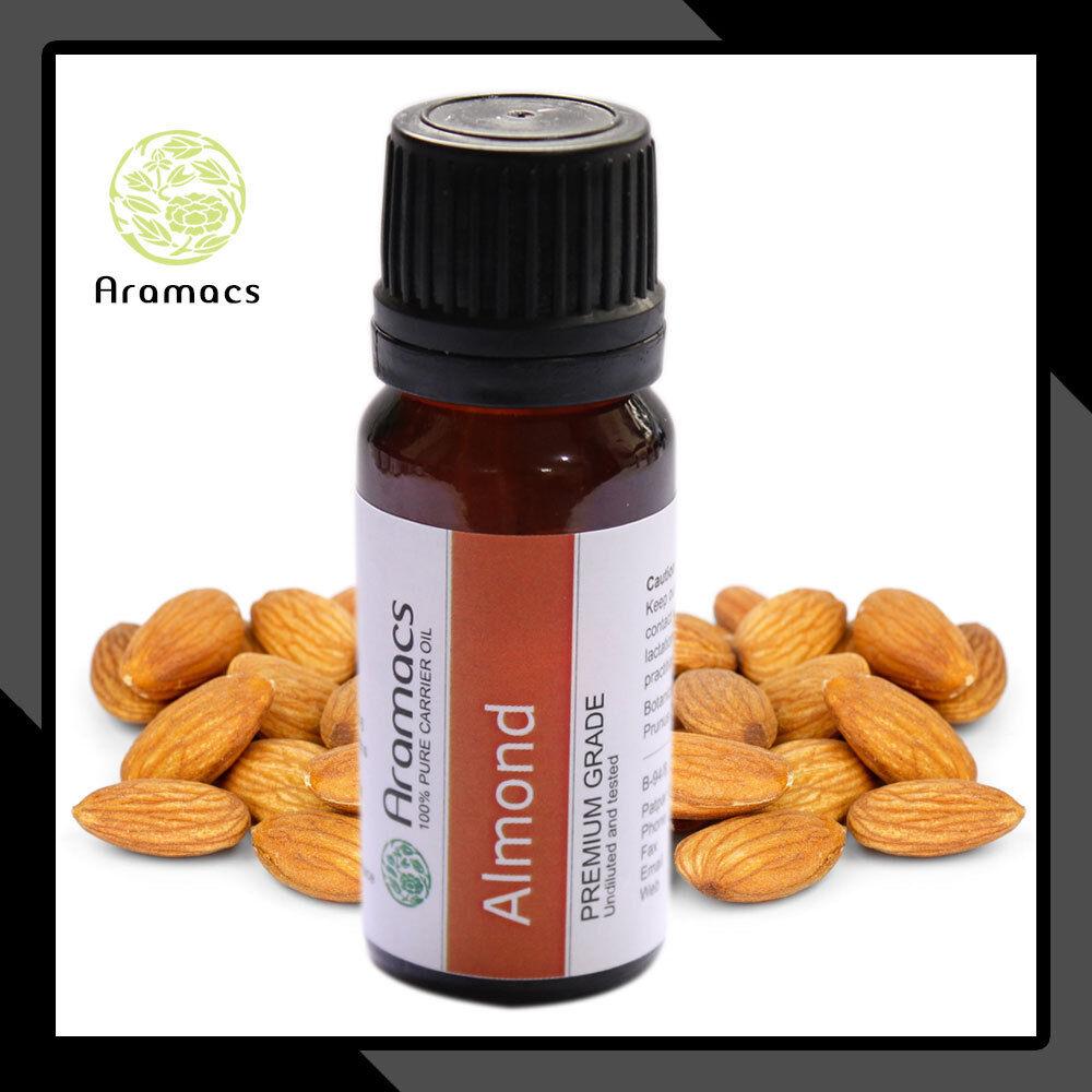 Almond Oil Therapeutic Grade Carrier Cold Pressed Oil Pure 5 ML To 700 ML