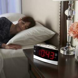 The Sleep Sound Alarm Clock 1.8 LED display soothing nature sounds